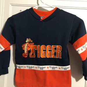 Child's Tigger sweatshirt 4t